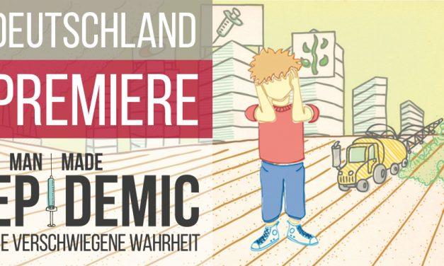 Deutschland Premiere! Man Made Epidemic – Die verschwiegene Wahrheit